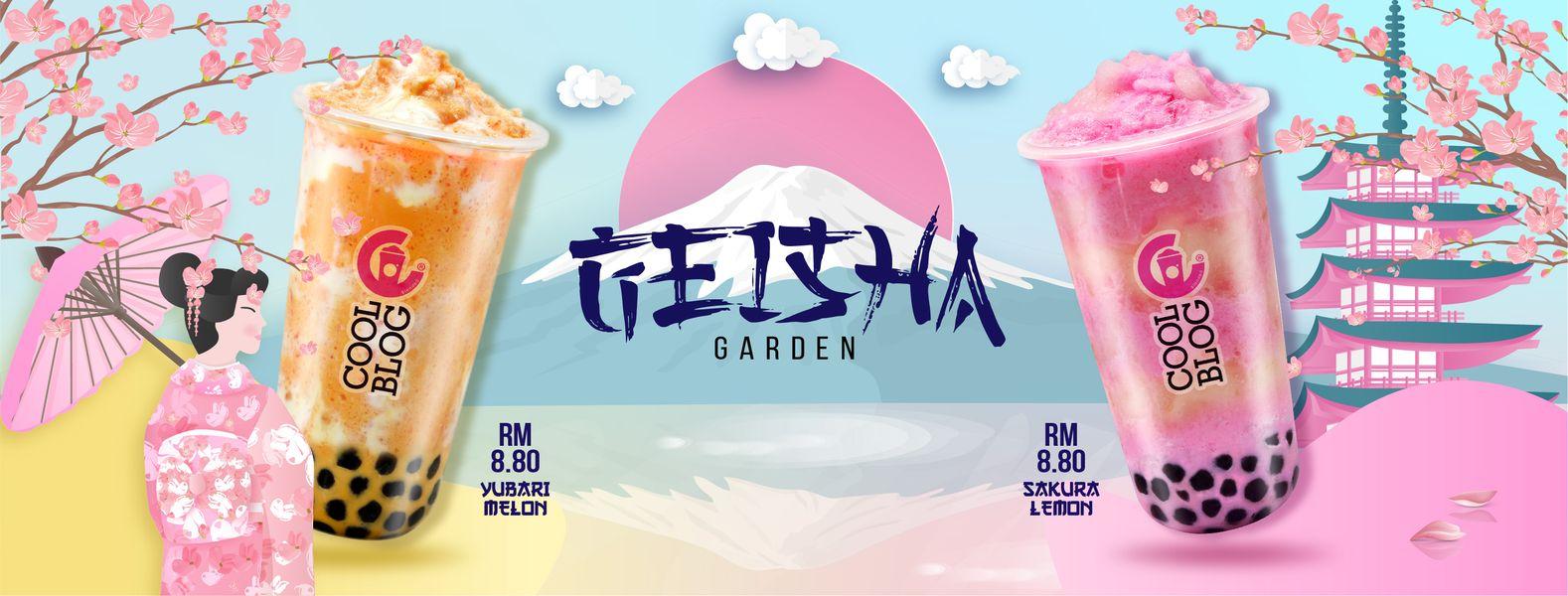 Coolblog Mengabdikan Keunikan Rasa Dan Budaya Negara Jepun Melalui Kempen Geisha Garden