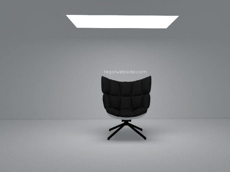 cara membuat lampu rectangle light di vray 3.6