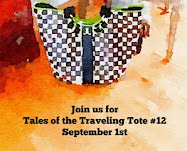 Look for Tales of the Traveling Tote #12 on September 1, 2017