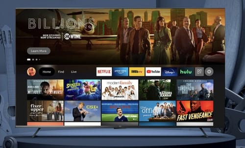 Amazon launches its first smart TV
