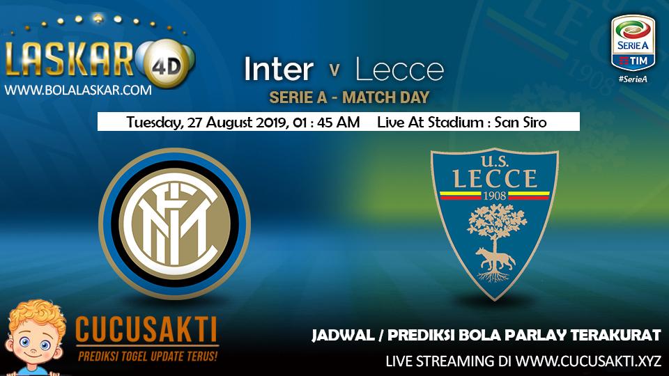 Prediksi Inter Milan vc Lecce Pekan Pertama Liga Italia