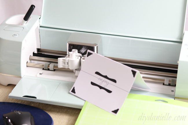 Easy card to make with Cricut Air 2