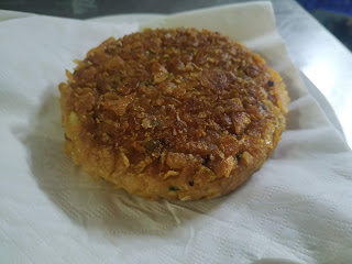 Grilled soya protein patty for soya protein burger recipe