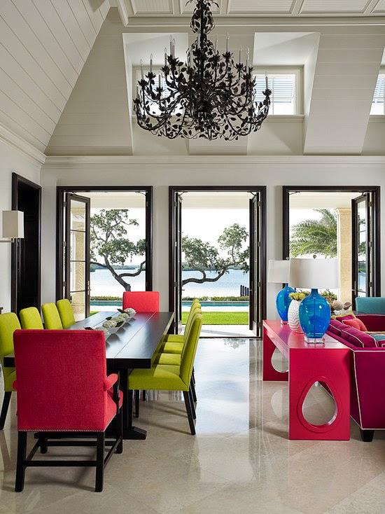 Ruang Makan Tropis Cantik  Desain Rumah Minimalis