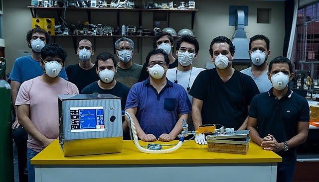 Ingenieros peruanos crean ventilador mecánico para pacientes con Covid-19