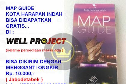 Ambil GRATIS Map Guide Kota Harapan Indah Disini !