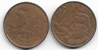 Moeda de 5 centavos, 2002