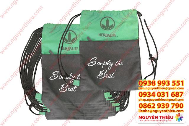 Sản xuất túi rút theo yêu cầu giá rẻ tại tp.HCM, xưởng balo túi xách