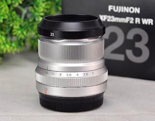 Lensa Fujifilm 23mm f2 Bekas