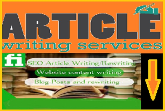 Get the best well researched articles written for your blog
