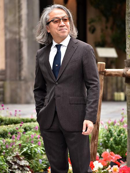 50代スーツ スタイル
