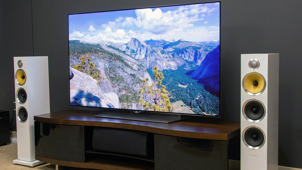 LGs Wallpaper Thin W Series Of 4K OLED TVs Are Just The Best DesignT He TV Is As Half Width A Pen And While Cheaper To