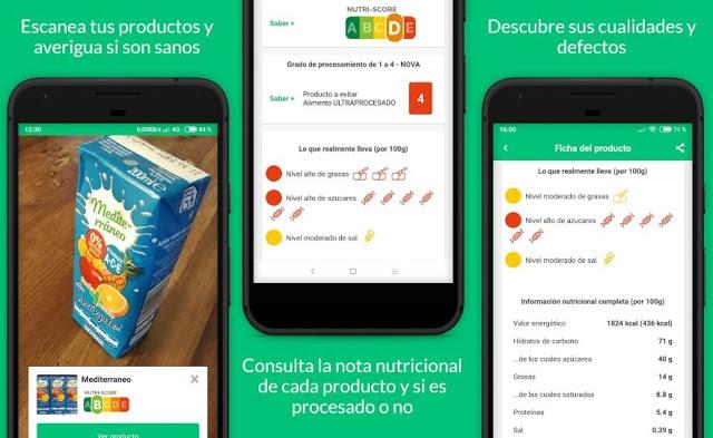 يكتشف هذا التطبيق المجاني ما إذا كان الطعام ضارا أو صحيا قبل تناوله