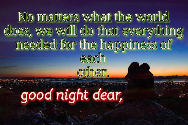 Love quotes with good night images