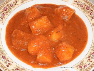 Tocanita de cartofi de post reteta dobrogeana traditionala romaneasca de casa retete culinare mancare de cartofi sau tocana de cartofi si mancaruri cu legume,