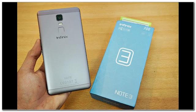 smartphone gaming terbaik Infinix Note 3 Pro