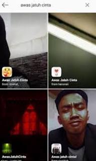 Bagaimana Cara Mendapatkan Filter Instagram Awas Nanti Jatuh Cinta?