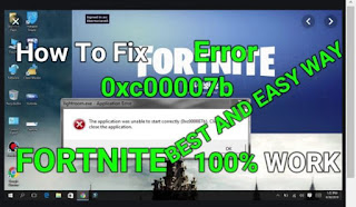 Fortniteクラッシュを修正する方法:エラー0xc00007bまたはUE4-FortniteGame