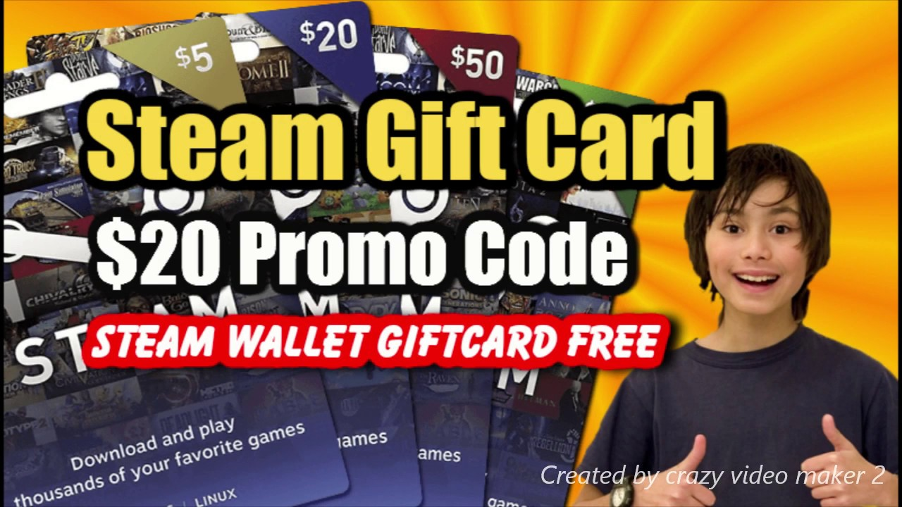 Get $20 Steam Gift Card For Free! 100% Working [December 2020]