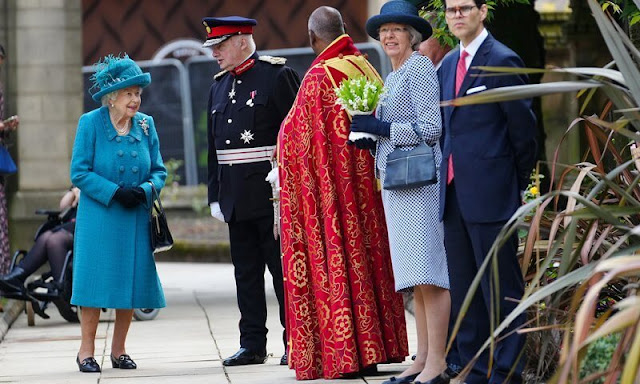 Queen visited Manchester Cathedral marking the 600th Celebration of the Collegiate Church