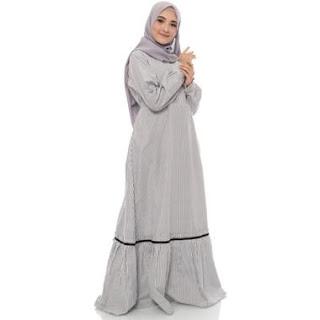 Gamis Muslim Wanita Bahan Tidak Panas
