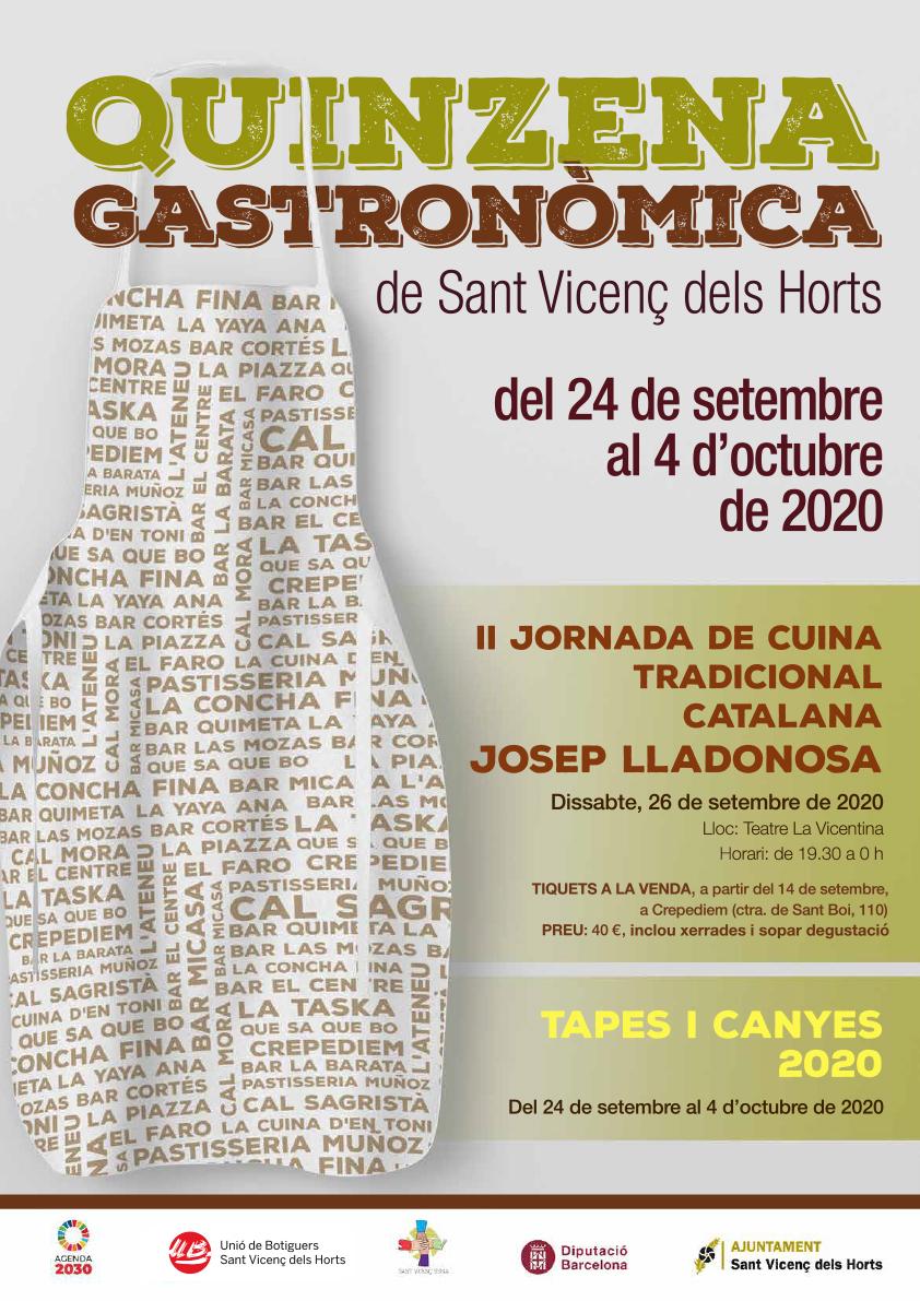 Nova edició de la Quinzena Gastronòmica de Sant Vicenç dels Horts