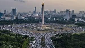 Tetap Kukuh Tuduh Pemerintah Indonesia Cekal Kepulangan, Riziq Shihab Bicara Lewat Vidio di Reuni 212