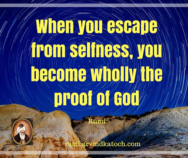 Rumi, Quote, Image, become, wholly, proof, God, Rumi quotes,