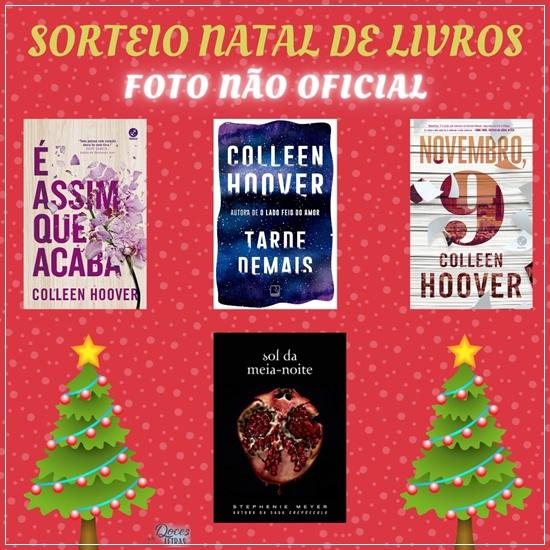 Sorteio Natal De Livros