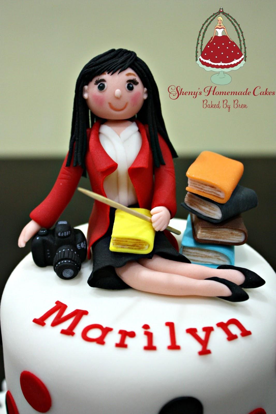 Teacher Birthday Cake Photo