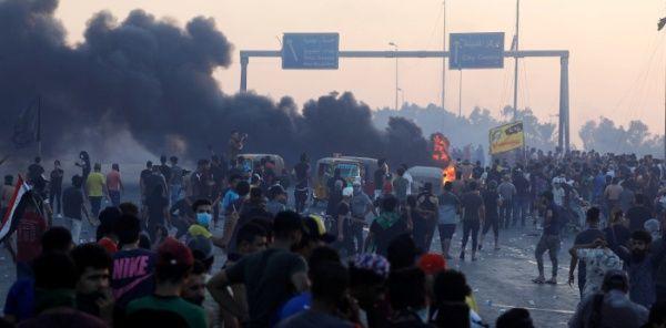 Represión contra movilizaciones en Irak han dejado 109 muertos