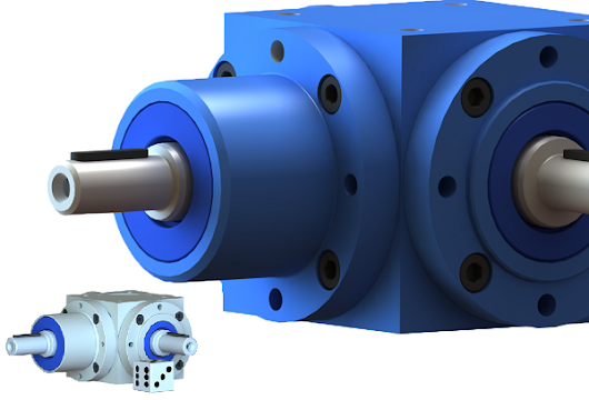 Spiral Bevel Gearboxes - When Size Matters