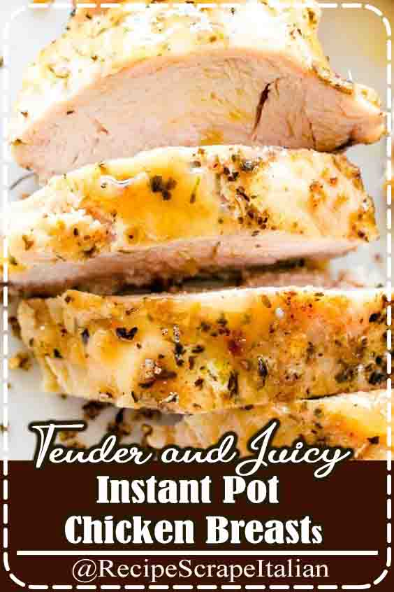 Instant Pot Chicken Breasts – If you've ever questioned a way to cook chicken breasts within the Instant Pot, this is often your recipe! These deliciously seasoned, utterly tender and juicy chicken breasts may be created with recent or frozen chicken breasts. #breasts #chicken