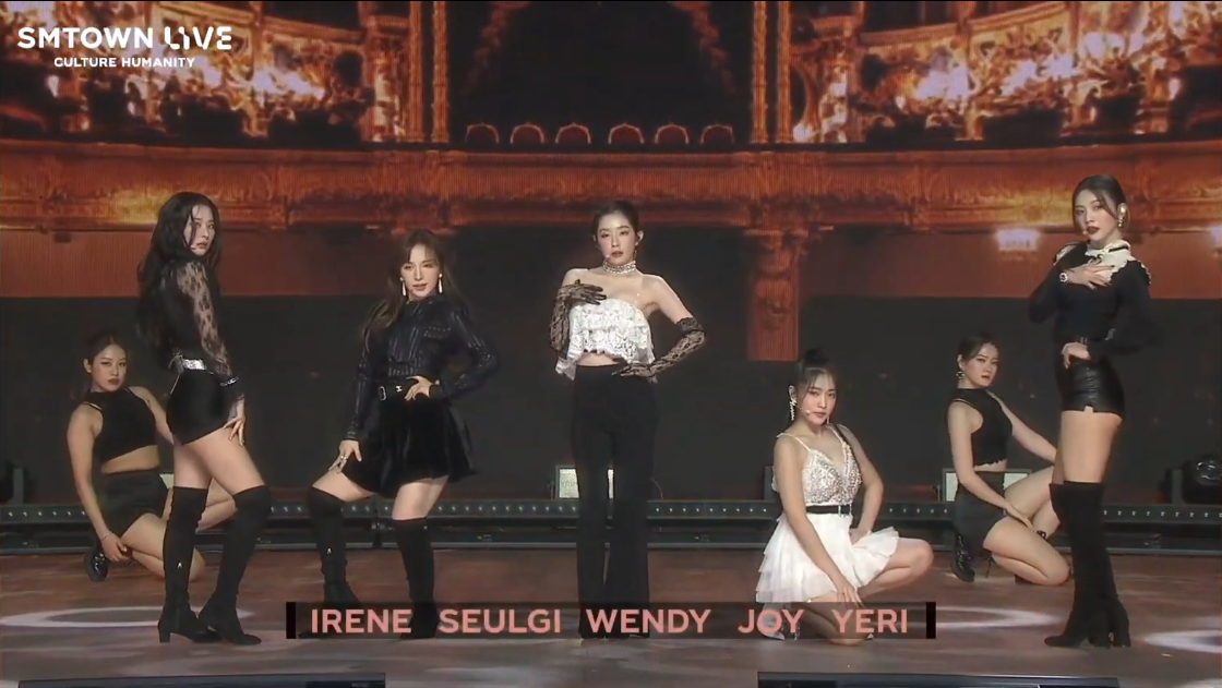 A Year of Hiatus, Wendy Returns to Perform With Red Velvet in SMTOWN 'Culture Humanity'