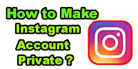 How to make Instagram Account Private?