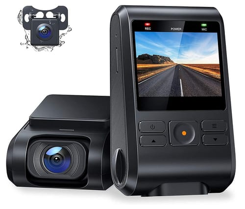 Recorder-A C550 Car Dual Dash Cam 1080P Front and Rear