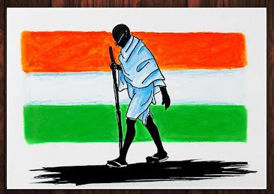 Gandhi Jayanti 2019, 30+ Best Drawings, Posters, Rangoli, Speech, Best Quotes