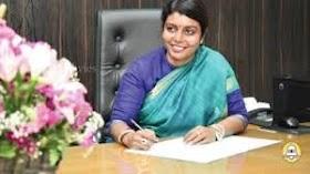 Biography of Dr Beela Rajesh Health Secretary