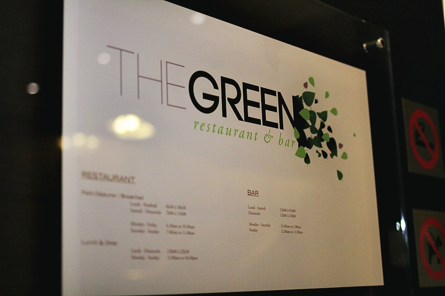 the green restuaran & bar luxembourg hilton