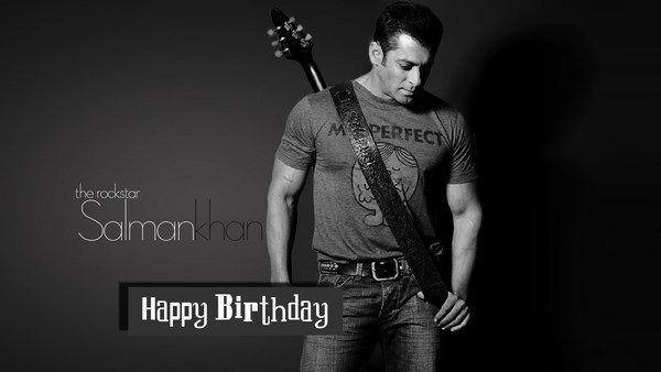 Happy Birthday Salman Khan HD Wallpapers Free