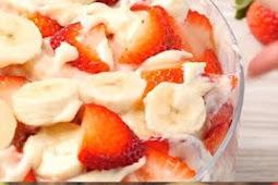 ★★★★★     Strawberry Banana Cheesecake Salad