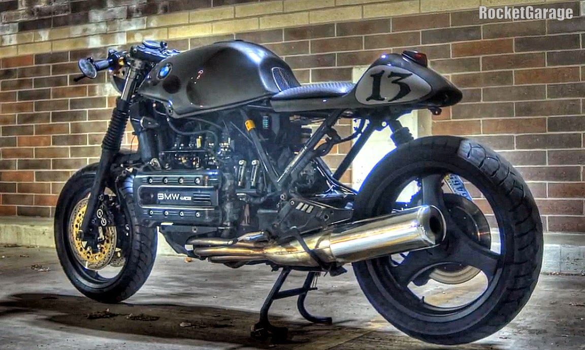 my bmw k100rs cafe racer project