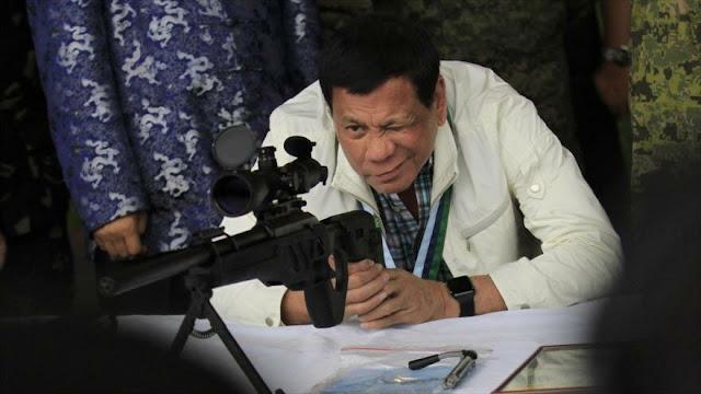 """Filipinas insta a EEUU a realizar """"el primer disparo"""" contra China"""