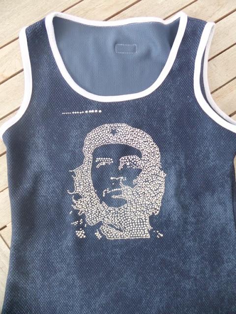 Basicshirt mit Glitzer Lillestoff Sporty