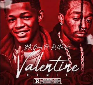 Music :  YK Osiris – Valentine Remix Ft Lil Uzi Vert