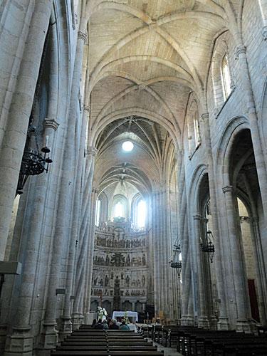 Guarda Cathedral interior.
