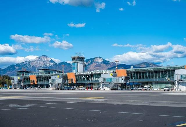 Ljubljana Airport passenger terminal