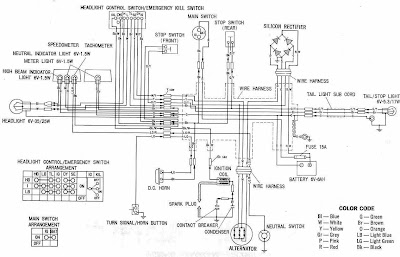 Honda Xl Motorcycle Complete Wiring Diagram on Motorcycle Turn Signal Wiring Diagram
