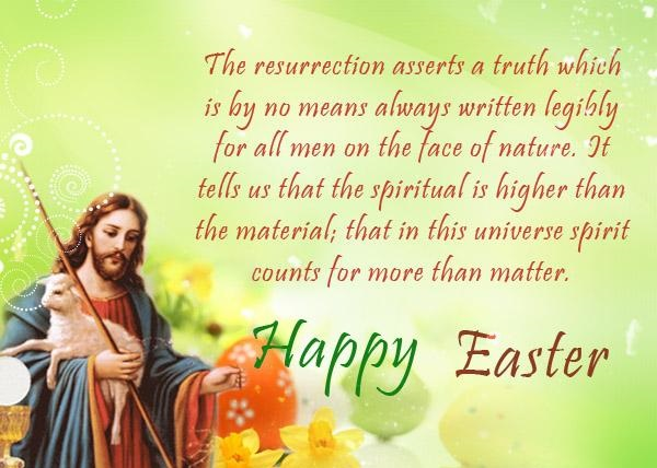 Easter Sunday Greeting Cards 2016 Free Download Happy – Easter Greeting Card Sayings
