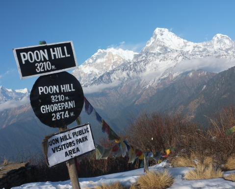 Route to Poon Hill -- Poon Hill